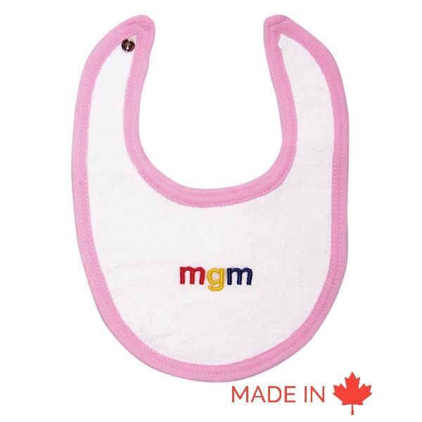 Custom baby bib - Made in Canada- Tex-Fab