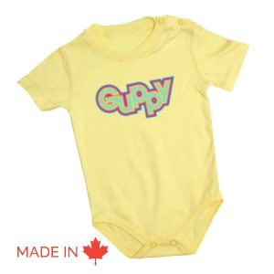 Chandail  à manches courtes pour bébé ( Cache-couche)