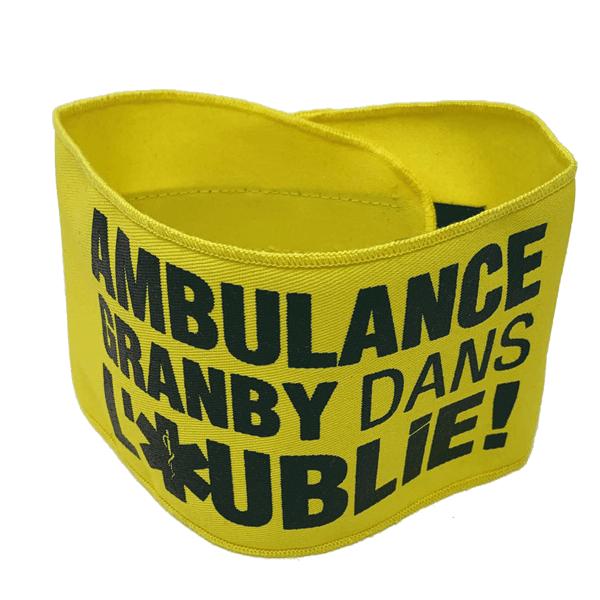Armband Custom Canada Yellow