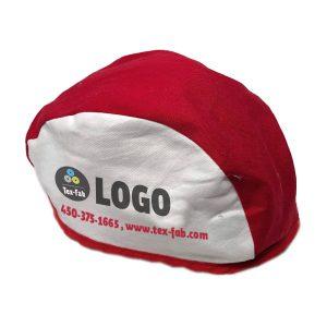 Chapeau de Soudeur - Rouge et  Blanc