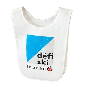 Dossard blanc Polypropylène sur mesure - Fait au Québec - Tex-Fab