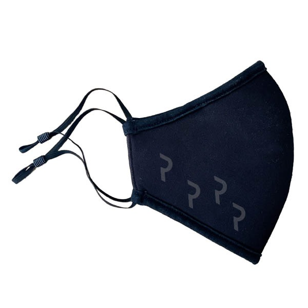 3-ply face mask Tex-Fab Made in Canada black logo