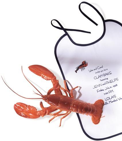 Custom bibs - lobster - Made in Canada- Tex-Fab